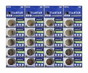 400 Pcs Cr2032 Tiantian Lithium 3v Coin Cell For Calculator Scale Remote Watch