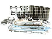 Engine Overhaul Kit For Massey Ferguson 65 Tractors. Ad4.203 With Chrome Liners