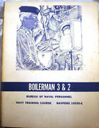 1960's Boiler Textbook Asbestos Magnesia Insulation Gasket Use In The Us Navy