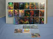 Lot Of 29 1996 Krome Holochrome Creed Comic Book Cards Inserts And Stickers L@@k
