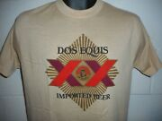 Vintage 80s Dos Equis Imported Beer T-shirt Fits S/m