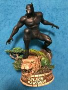 Limited Edition Bradford Exchange Black Panther Classic Statue