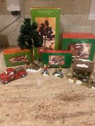Dept 56 Simple Traditions Fish Shack, Wally Wood Cutter, Truck, Fishing Buddies