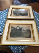 Europe Picture Art Engraving Clifford Art Studio Framed Hand Colored Sciver Jb