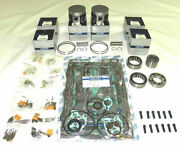 Yamaha 150 / 225 Carbed Power Head Platinum Rebuild Kit - 4th Over Bore + 0.40