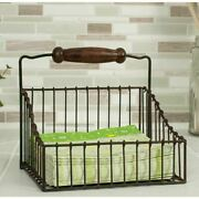 Rustic Country Wire Farmhouse Napkin Holder-caddy