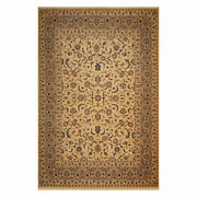 9and03911 X 13and0395 Hand Knotted Wool 250 Kpsi Pakpersian Area Rug Warm Beige