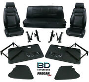 Complete Front Seat And Interior Kit For 1956-1977 Vw Bug Convertible 80-1102 Scat