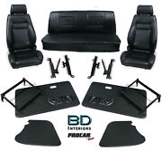Complete Front Seat And Interior Kit For 1956-1976 Vw Karmann Ghiaand039s 80-1103 Scat