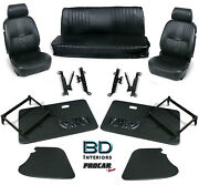 Complete Front Seat And Interior Kit For 1956-1977 Vw Bug Convertible 80-1302 Scat