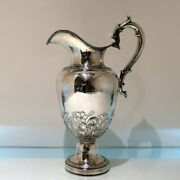 Early 19th Century Antique American Sterling Silver Pitcher New York Circa 1836