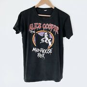 1979 Alice Cooper Mad House Rock Vintage Tour Shirt 70s 1970s Ozzy Iron Maiden