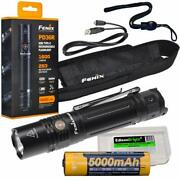 Fenix Pd36r 1600 Lumen Usb Rechargeable Cree Led Tactical Flashlight With Edi...