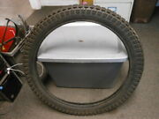 Nos Vintage Goodyear Eagle R/t 2 Ply Tube Type Motorcycle Tire 2.75-21 2.75x21