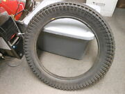 Nos Vintage Goodyear Eagle R/t 2 Ply Tube Type Motorcycle Tire 3.25-18 3.25 18
