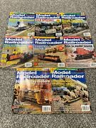 Model Railroader Magazine Back Issues 8 Uncirculated Newsstand 2011 Town Layout