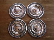 Set Of 4 Vintage Ford Chevy Dodge Hubcaps Vintage Auto Wheel Cover Car Hub Cap