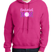 Basketball Mom Hoodie Gift For Basketball Mother Hooded Pullover - 1915c