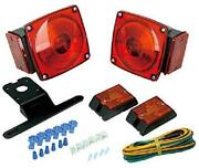 Trailer And Boat Light Kit Utility Rv 12v Wiring Stop Turn Tail Side Marker Value