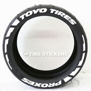 Toyo Tires Proxes Tire Lettering 19-21 - 1.25 Frost Edition Tire Stickers