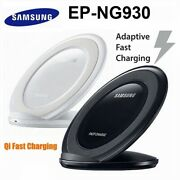 Qi Fast Charger Dock Stand Samsung Oem Overseas Retail Black Or White - Local