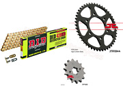Did Gold Heavy Duty Upgrade Chain And Jt Sprockets Kit For Yamaha Yzf-r 125
