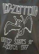 Vintage T-shirts Mens Pre-owned Size M Led Zeppelin Awesome Throwback Tshirt C74