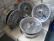 Triumph Stag Chrome Wire Wheels Tubeless