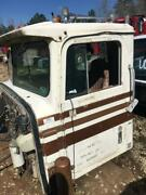 White And Brown 1980 International F4370 Transtar Day Cab Assembly