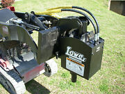 Lowe 750 Classic Hex Auger Drive Post Hole Digger Attachment Fit Mini Skid Steer