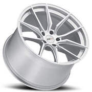 4 18/19 Staggered Cray Wheels Spider Silver Rims Fit Corvette B30