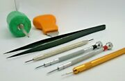 Watchmakers Small Group Of Tools - Tools Vintage - 7mf1