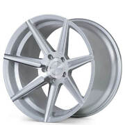 4 20 Staggered Ferrada Wheels F8-fr7 Machined Silver Fit Ford Mustang B2