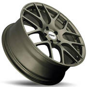 4 20 Staggered Tsw Wheels Nurburgring Matte Bronze Rotary Forged B9