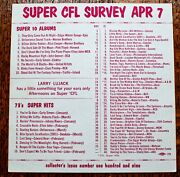 Wcfl Chicago Survey Radio Music Chart April 7 1973 Bill Withers Sweet Deodato