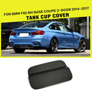 Carbon Fiber Car Oil Gas Fuel Tank Cup Cover Fit For F82 M4 2-door 2014-2017
