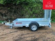 New Nugent General Purpose G2512-1 Trailer With Ramp - 8and0392 X 4and0392 - 1400kg Mgw✅
