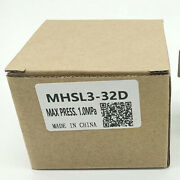 1pc Brand New Smc Sliding Table Cylinder Mhsl3-32d Free Shipping
