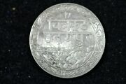 1928 - Mewar India Princely State London Friendship Rupee H17410