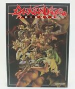 Darkstalkers Tribute Softcover Art Book Udon Capcom Used