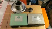 Jacobs Spindle Nose Lathe Chuck Model 91-t0 And Collets