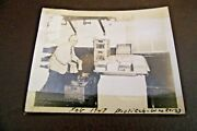 Vintage 1947 Black And White Photo Of Worker At Bostitch Company Westerly, Ri