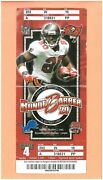 Detroit Lions At Tampa Bay Buccaneers 10-2-2005 Nfl Ticket Ronde Barber Photo Tb