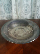 Vintage Epca Bristol Silverplate By Poole Footed Bowl