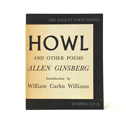 Howl, Allen Ginsberg. First Edition, 2nd Printing. Edition Seized By Customs.