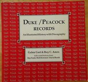 Duke-peacock Records An Illustrated History W/ Discography 1990 Paperback Rare