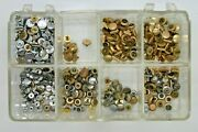 Watchmakers Assortment Of Early Wrist Watch Crowns - Tools Vintage - 10mf8
