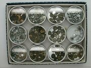 Watchmakers Large Assortment Of Crowns - Tools Vintage - 10mf10