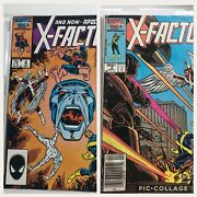On Sale Now X-factor Comic Book 6 And 3 First Appearance Apocalypse Key Xmen/
