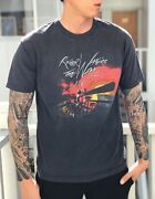 Roger Waters The Wall Live World Tour 2012 Shirt Pink Floyd Sz Large Concert Tee